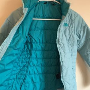 The North Face girls 7/8 S jacket puffer coat